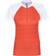 Bontrager Solstice Short Sleeve Jersey Women orange/white